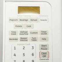 WB07X11289 GE Microwave Control Panel - White OEM WB07X11289 - $68.26