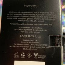 5x ELLIS BROOKLYN Myth EDP 1.5mL (7.5mL total) NEW IN ORIGINAL CARD image 3