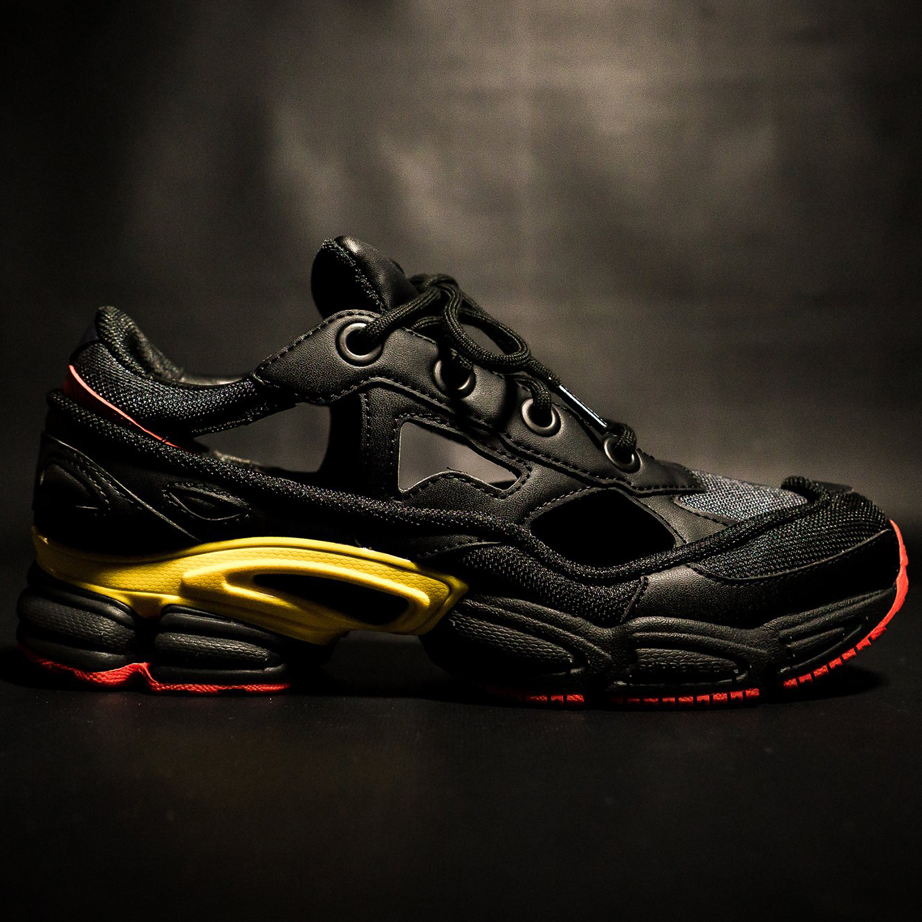 ffcc3f121c1f Adidas x Raf Simons Replicant Ozweego (Belgium  Black  Red  Yellow) Men