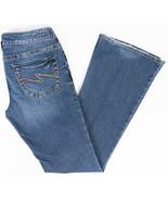 Silver Aiko Bootcut Womens Jeans Medium Wash Size 28/33 - $24.47