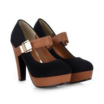 Platfor 39 fashion 2018 Buckle KarinLuna High Strap Size Quality Brand Pumps 34 waqxgPWx4Y