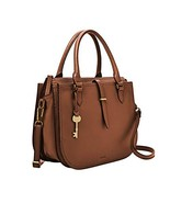 Fossil Ryder Satchel Purse Handbag (One Size|Brown) - $246.21