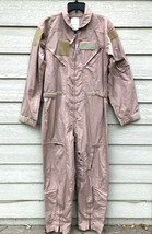 NWT GENUINE US AIR FORCE TAN NOMEX FIRE RESISTANT FLIGHT SUIT CWU-27/P -... - $123.75