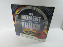 2008 The Moment of Truth Game with Toy Biometric Lie Detector Sealed - $9.89