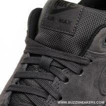 NIKE AIR MAX 1 PREMIUM ANTHRACITE BLACK SUEDE SIZE 12 BRAND NEW (875844-010) image 6