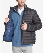Tommy Hilfiger Men's Down Quilted Packable Logo Jacket Black - $97.50