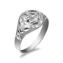 Sterling Silver Sagittarius Ladies Zodiac Sign Ring - £17.92 GBP