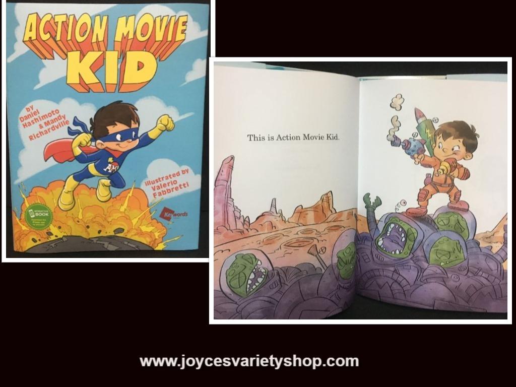Action movie kid hero web collage
