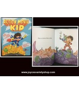 Action Movie Kid Interactive Illustrated Book Hard Cover Hashimoto, Rich... - $9.99