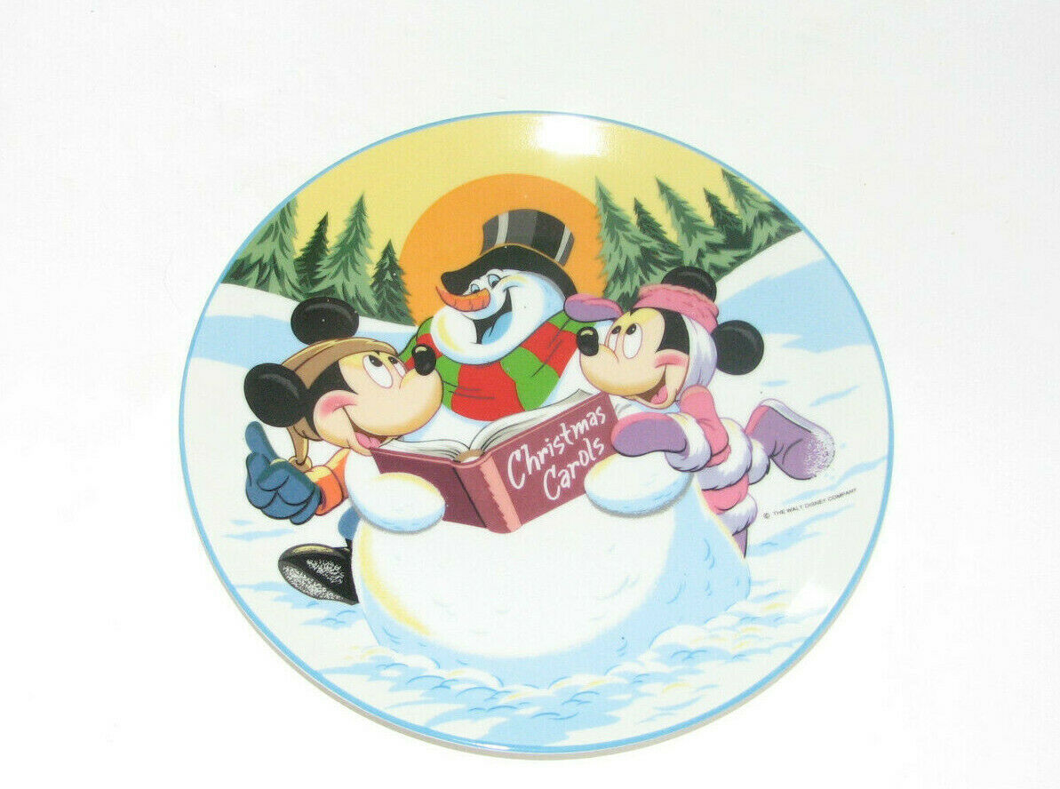 Schmid Walt Disney Characters MERRY MOUSE MEDLEY Collectible Plate 1987 - $21.02