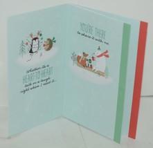 Hallmark XZH 144 4 Snowman Penguin Friends Christmas Card Quad Fold Package 4 image 2