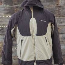 Columbia Titanium Ski Snowboard Jacket Coat Mens S Brown Tan - $29.69