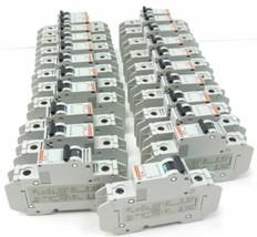 LOT OF 22 MERLIN GERIN 60101 CIRCUIT BREAKERS C1A, 240V, MULTI 9 C60