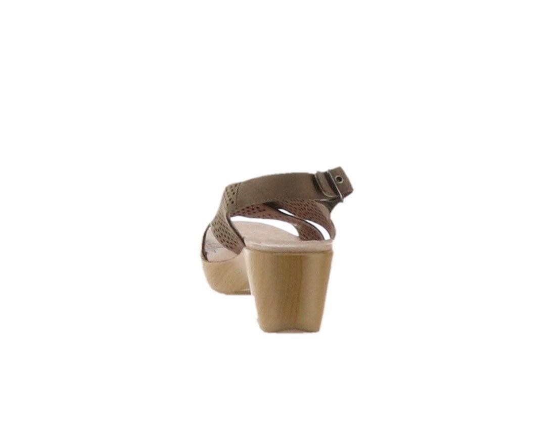 Dansko Perforated Sandals Jacinda Walnut 38=7.5-8US NEW A289112