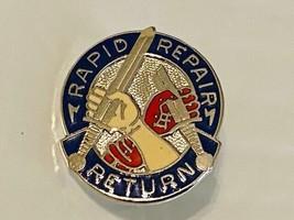 US Military 69th Maintenance Battalion Insignia Pin - Rapid Repair Return - $10.00