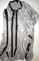 Womens New Designer Natori Long Robe XS NWT Silver Gray Black Empress Si... - ₨14,248.19 INR