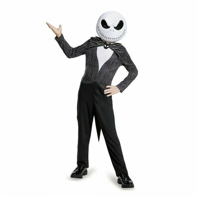 Disguise Nightmare Before Christmas Jack Childrens Halloween Costume 87942