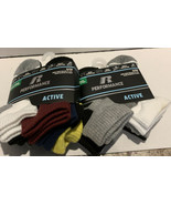 Russell Performance Socks Boys Size Small (shoe size 4.5-8.5) 12 Pairs (... - $15.51