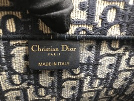 NEW AUTH CHRISTIAN DIOR 2019 CD Logo OBLIQUE BOOK TOTE BAG LIMITED RUNWAY  image 8