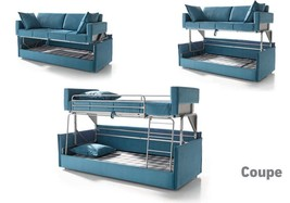 Coupe Sofa-Bed Special order in Artemis 5 stone Made in Spain