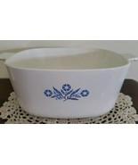 "Corning Ware Blue Cornflower 2 1/2 Quart Casserole Dish ~ 8.5"" Square x ... - $18.75"