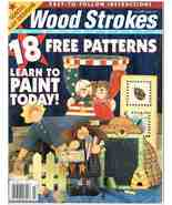 Back Issue of Wood Strokes & Woodcrafts Magazine July 2002 - $8.99