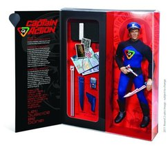 Round 2 Captain Action Deluxe Action Figure - $65.33