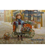 Flora's Flower Nursery Little Children Peddlers by Lee Dubin Metal Sign - $30.00