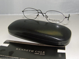 New Kenneth Cole Wire Hanger Eyeglasses Black 47mm - $47.48
