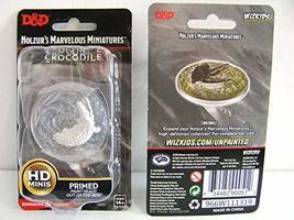 WizKids D&D Nolzurs Marvelous Upainted Miniatures: Wave 11: Crocodile - $6.68