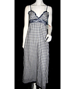 NWT SUPERDRY TOKYO VINTAGE women MAXI DRESS lace lining spaghetti strap ... - $49.99