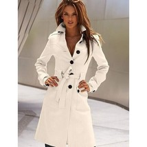 Autumn Winter New Multi color  Woolen Women Coat - $70.00