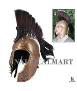 Punk Trojan Helmet Medieval Gladiator War Battle Helmet - LARP, Reenactment - $197.01