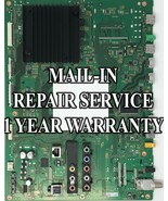 Mail-in Repair Service For Sony XBR-65X900C Main Board - $195.00