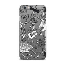 iPhone 6 Plus Case, Skeleton Dance Flexible TPU Soft Case Rubber Silicon... - $14.20