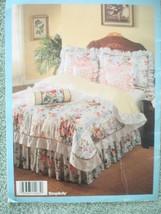 Vtg 1993 Simplicity DECOR Bedding Basics Instructional Pillows Comforters Duvets image 2