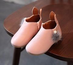Toddler Baby Girls Cute Rabbit Ears Ball Sneaker Boots Zipper Casual Sho... - $255,88 MXN+
