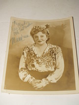 Autographed 8X10 Photograph of Mana Zucca-1948-American actress, singer,... - $48.99
