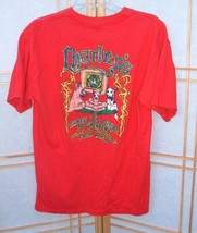 Size large Charleys A Three Dog night at MAUI,HAWAII Red TEE short sleeve - $18.78