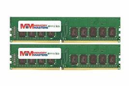 MemoryMasters 16GB (2x8GB) DDR4-2133MHz PC4-17000 ECC UDIMM 2Rx8 1.2V Un... - $116.35