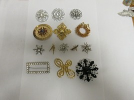 Costume  Jewelry , Vintage , Pins / Brooche , Mixed Lot of 14 - $175.00