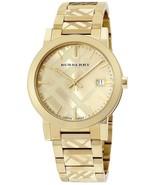 Burberry Women's Watch BU9234 Swiss Gold Ion-Plated Stainless Steel Brac... - $199.00