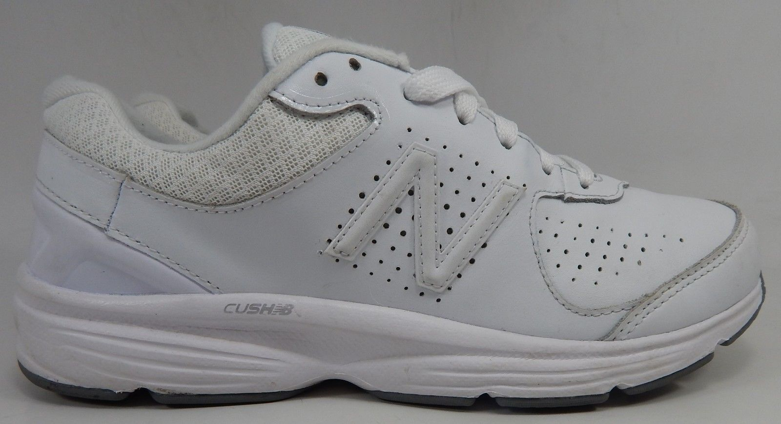 New Balance 411 v2 Women's Walking Shoes Size US 9 M (B) EU 40.5 White WW411WT2
