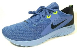 Nike Legend React AA1625 406 Mens Shoes Running Mesh Blue Black Size 11 - $89.99