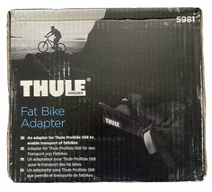 """Thule Fat Bike Adapters Cradle 5981 for ProRide bike Rack 3-5"""" Roof Carrier NEW"""