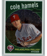 2008 Topps Heritage Chrome #C85 Cole Hamels 206/1959 Philadelphia Phillies - $6.99