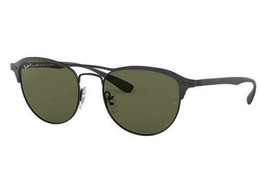 Ray ban Occhiali da Sole Polarizzati Rb3596 186/9a 54mm Nero Telaio Verde Epoca - $133.72
