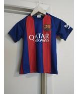Barcelona  Quatar Airways Youth Jersey 22 - $8.22