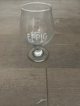 EPPIG Brewing Craft Beer Tulip Pint Glass San Diego CA  Micro Brewery - $12.00