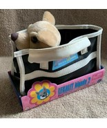2003 Legally Blonde 2 Bruiser Chihuahua Plush Dog w/ Toy Pet Carrier App... - $29.69